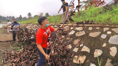 Peringati World Cleanup Day, Pemko dan Komunitas Sungai Bersih-bersih Sungai