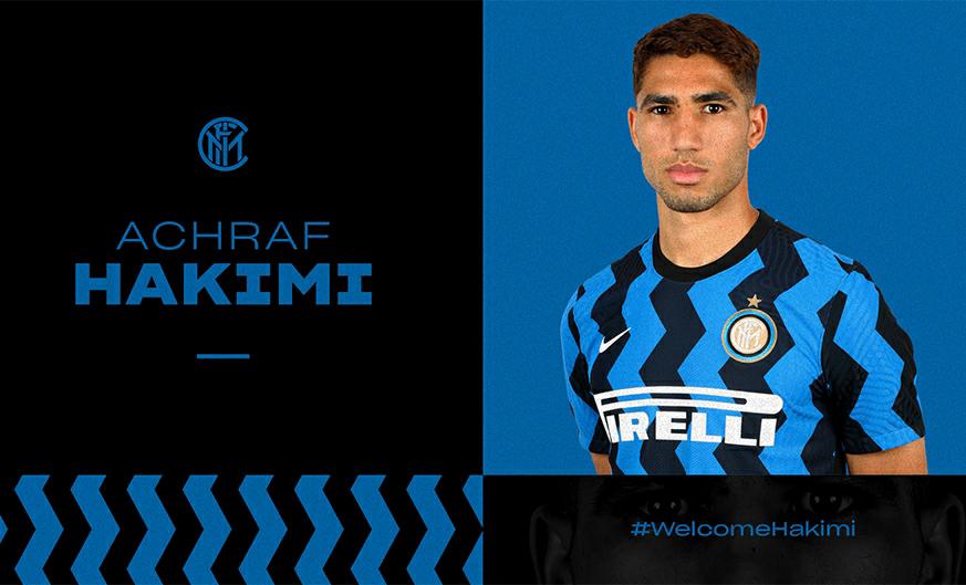 El Real Madrid traspasa Achraf Hakimi al Inter de Milán