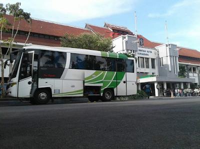 Sewa Bus Jogja di Surabaya