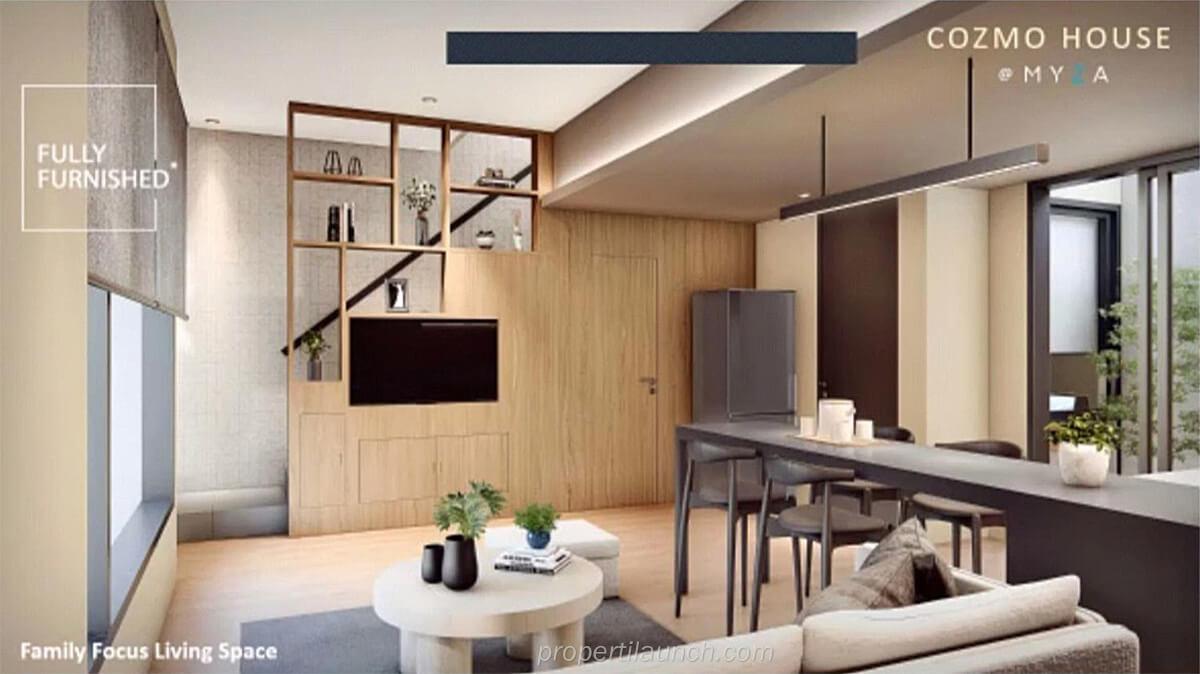 Living Room CozmoHouse Myza BSD