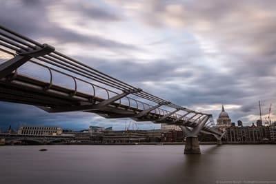 Harry Potter Filming Location London - Millenium Bridge
