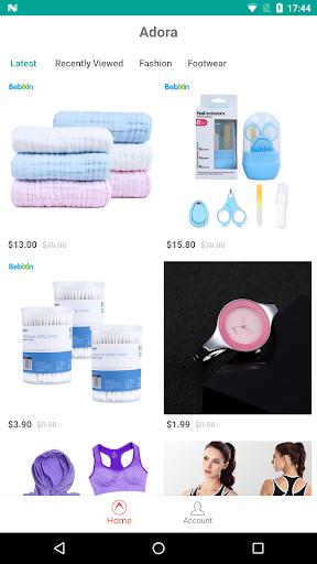 Adora - Personalized Shopping  screenshots 1
