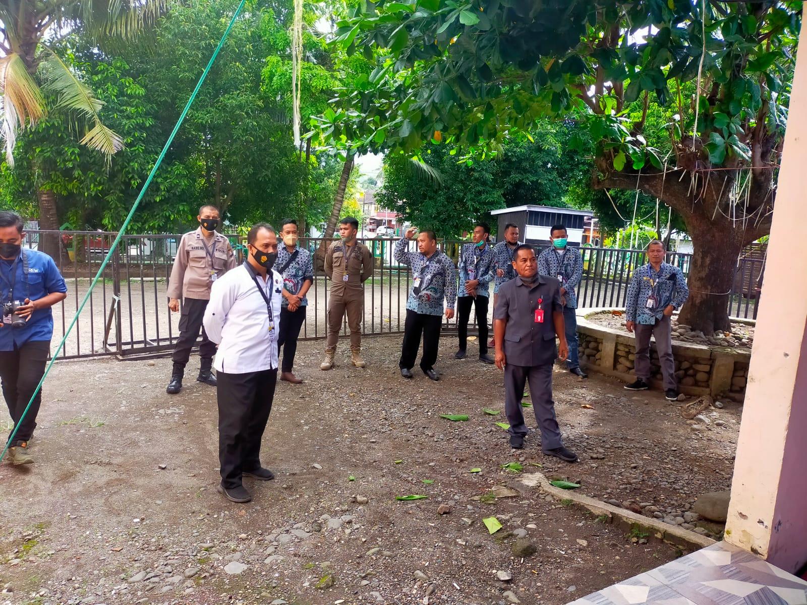 Ipda Mahmuddin,  S. Sos Pimpin Pengamanan Ujian Seleksi Kompetensi (SKD) CPNS Pemkab Soppeng