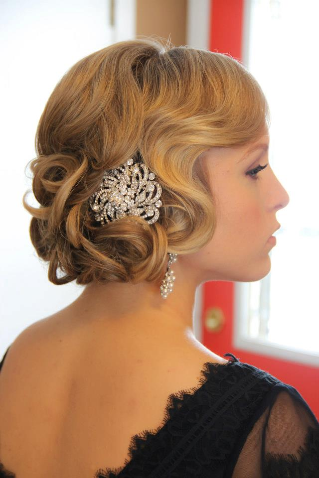 +10 Vintage Wedding Hairstyles For Women's 4