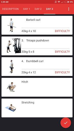 SmartFit - Gym Personal Trainer, Strength training  screenshots 5