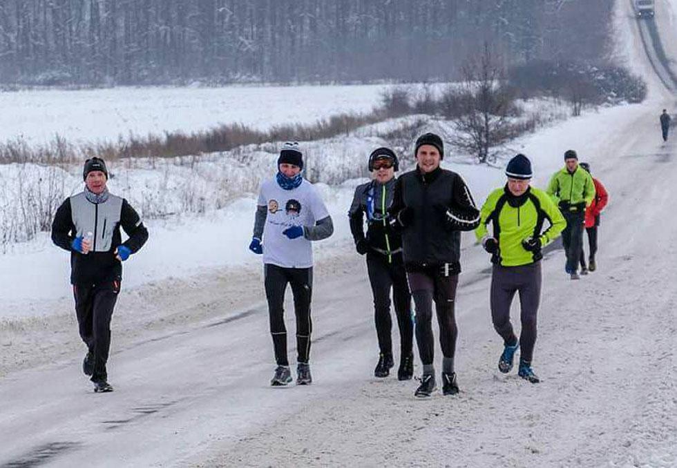 Пробег День зимнего максимума