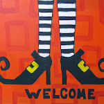 Witchy Welcome Shoes Arty Party.JPG