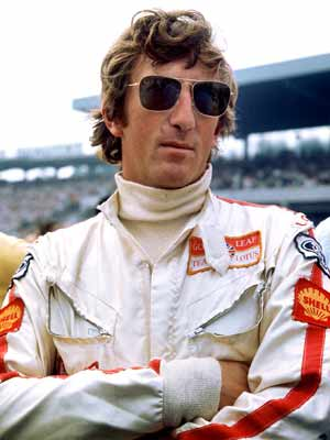 Jochen Rindt wearing sunglasses ray ban caravan