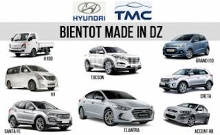 Bientôt des Hyundai i10 et Accent RB et 6 autres modèles made in DZ