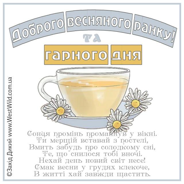 доброго ранку та гарного дня