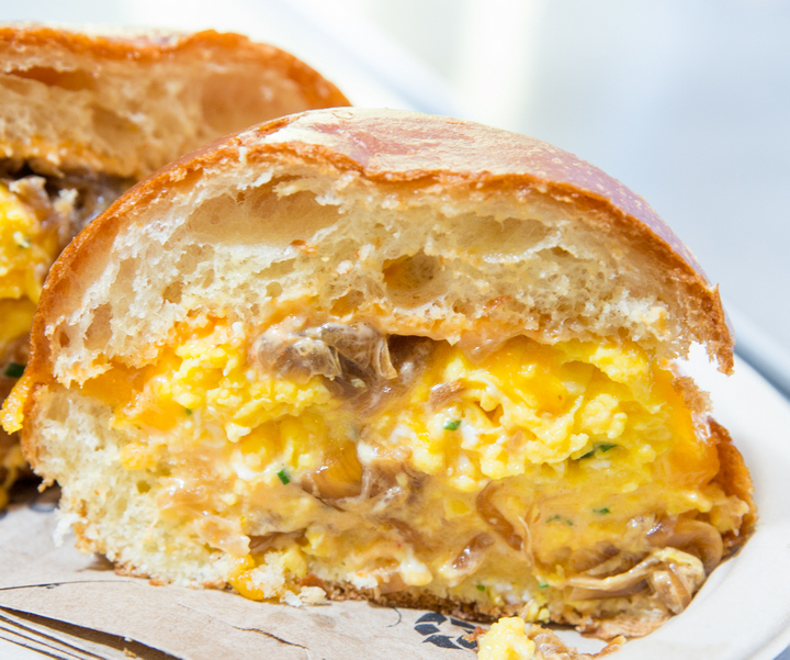 close-up photo of a Fairfax sandwich