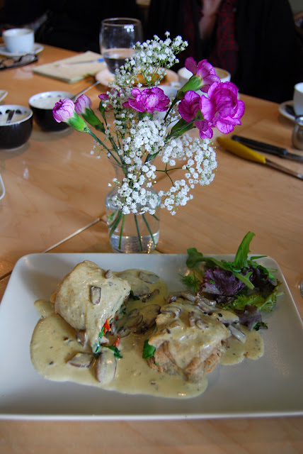A savory crepe prepared and served at Magdalena's Creperie in Historic Fairhaven / Credit: Bellingham Whatcom County Tourism