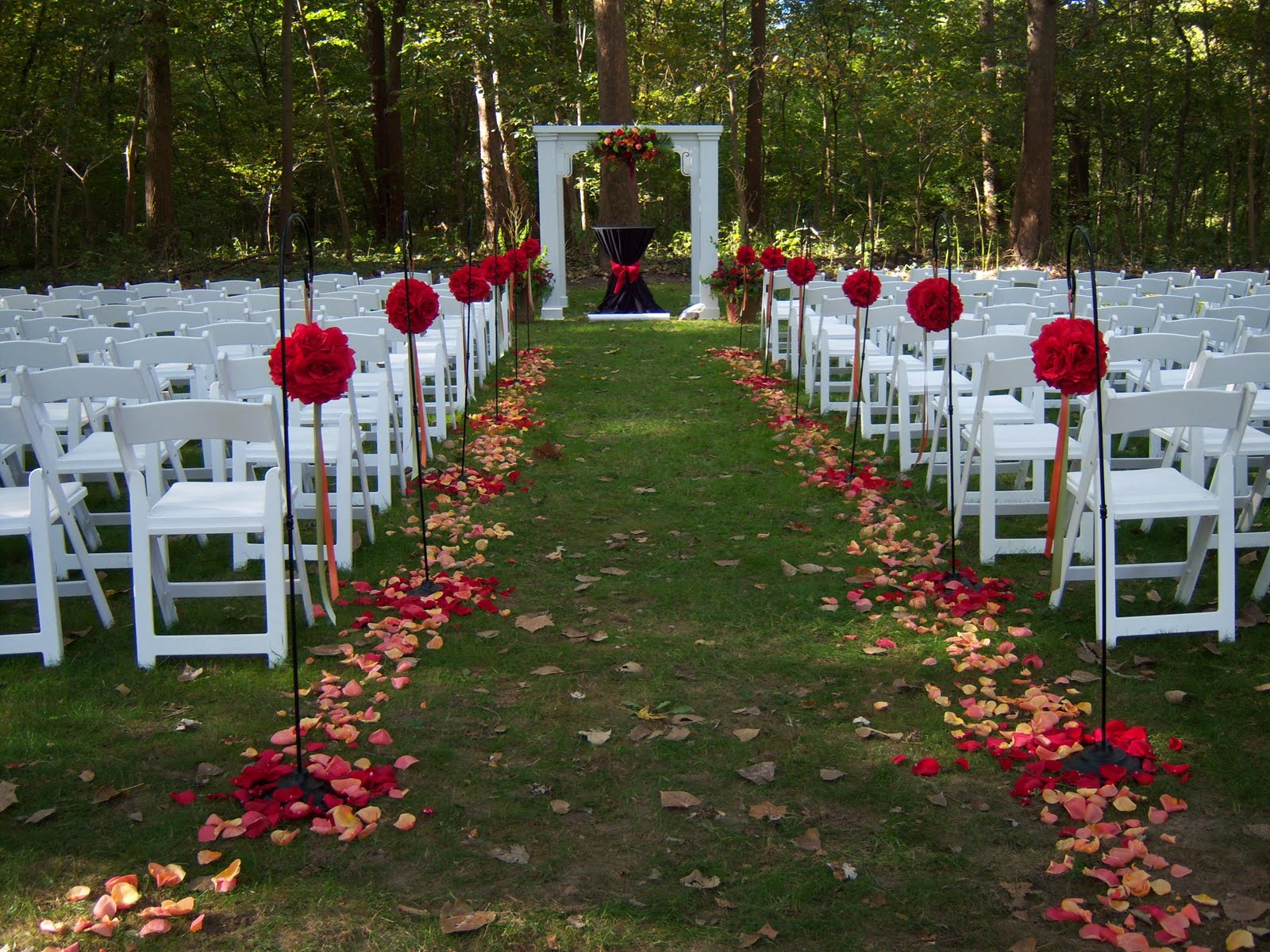 Outdoor Wedding Ideas: Ken's Blog: Simple Garden Weddings Ideas