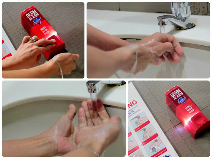 Safeguard Germ Alarm - Proper Hand-washing