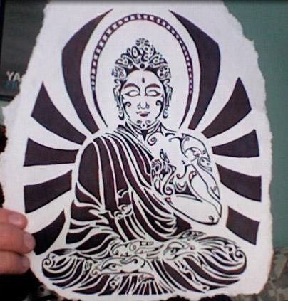 Paper Buddha, Yoga And Meditation