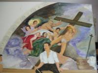 das Kreuz wird hinweggetragen