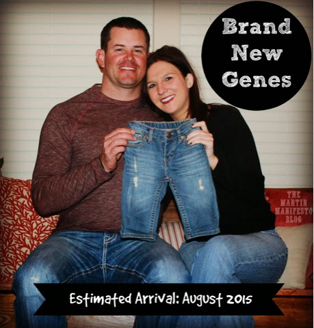 Leslie & Ryan Martin, Pregnancy Announcement