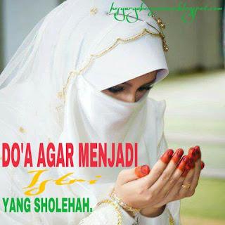 Doa Agar Menjadi Istri Yang Sholehah