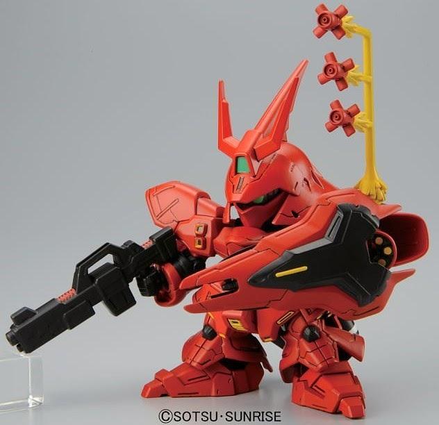 Đồ chơi mô hình MSN-04 Sazabi SD Gundam BB 382 đa dạng về màu sắc