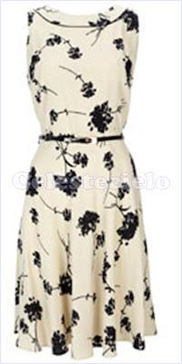 2b2cb7da50 Vestido de algodón sisa revocada Vestido de algodón estampado