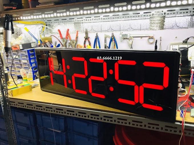 Đồng hồ led Đếm ngược + Bấm giây thể thao Giờ : Phút : Giây Chạy bộ Marathon