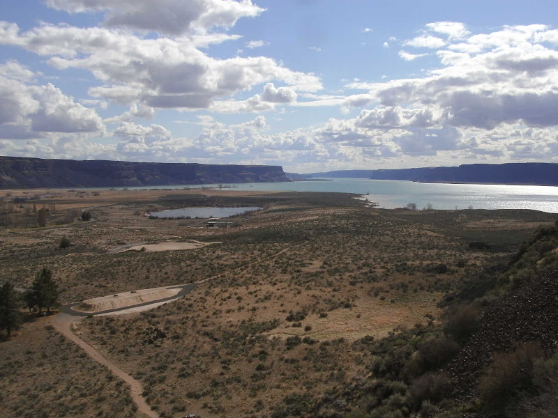 Photo: View from Steamboat Rock on a nice, bright day.