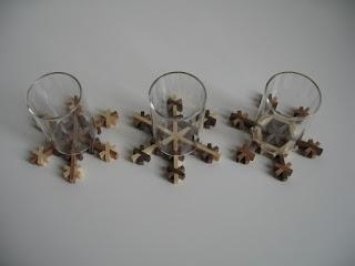 スノークリスタルコースター snow crystals kumiko coaster