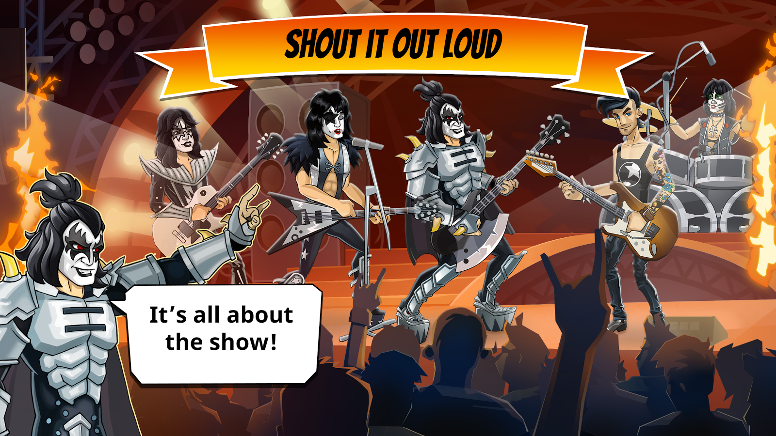 KISS Rock City- screenshot