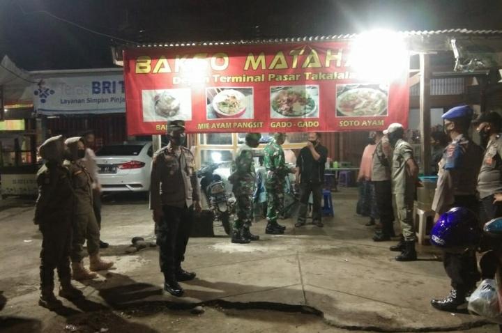 Polres Soppeng, Kodim 1423 bersama Pemkab Gelar Operasi Aman Nusa II Pendisiplinan Prokes Covid-19