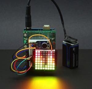 Arduino music viz