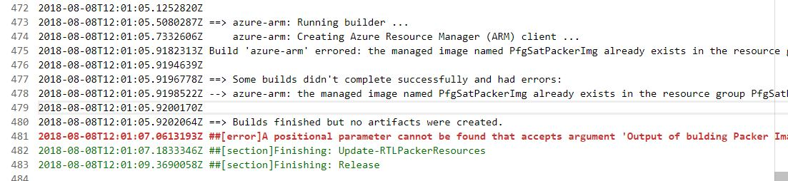 packer -build -force is not deleting existing image - Google