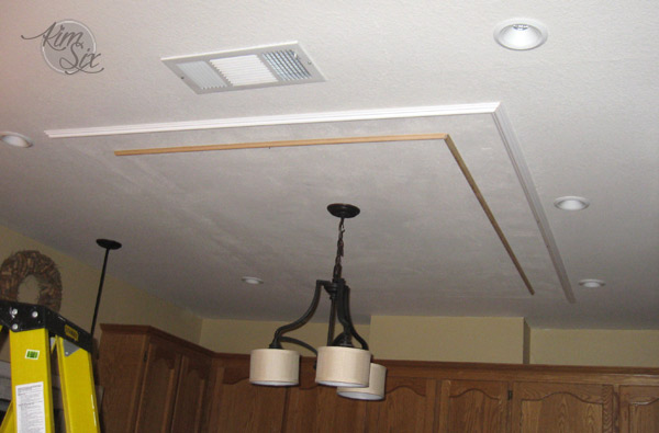 Adding Molding To Ceiling