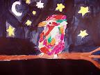 Collage Bird by Kelis