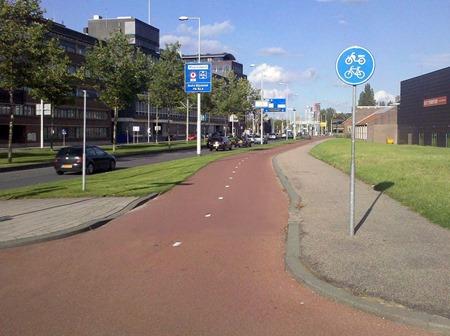 Rotterdam_Fietspad_Westzeedijk