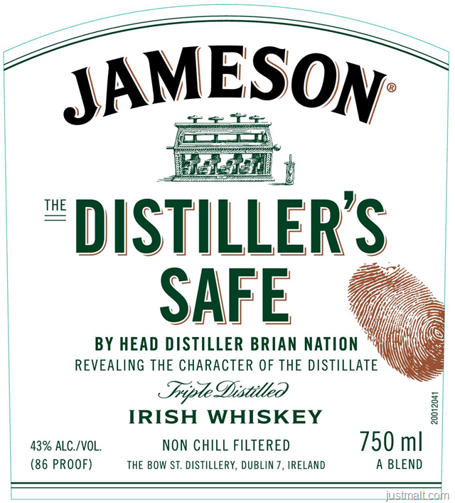 Jameson - The Distiller's Safe