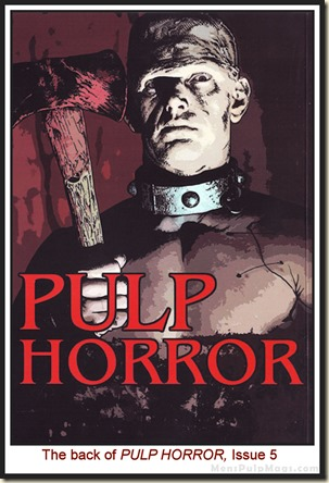 PULP HORROR, issue 5 WM