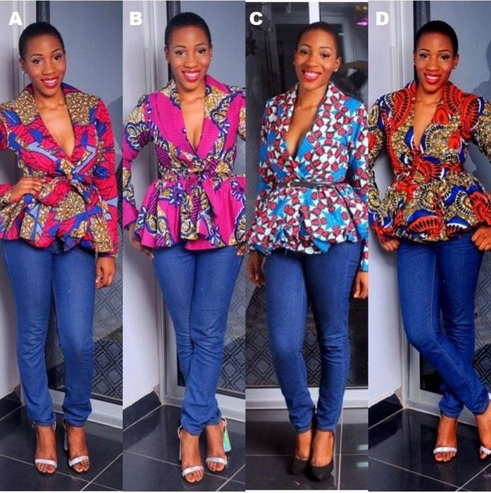 latest Elegant Ankara jacket design 2018 , 2018 (10)