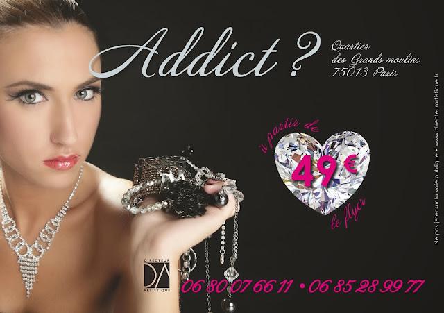 création flyer Bijouterie