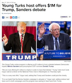 20160527_0726 Young Turks host offers $1M for Trump, Sanders debate (Hill).jpg