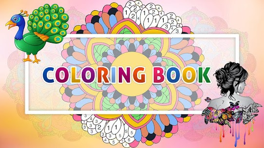 Color By Number –  Relaxing Free Coloring Book 2.9 MOD for Android 3