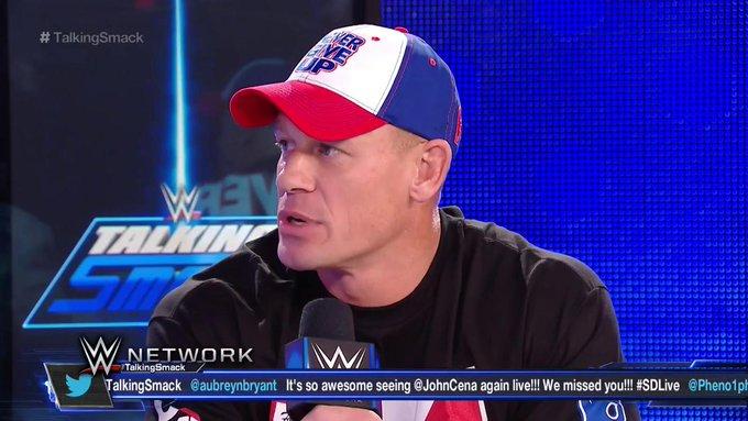 John Cena Take Back Calling The Rock A Part-Timer Superstar.