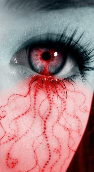 Bleeding Love Valentine Eye, Bloody