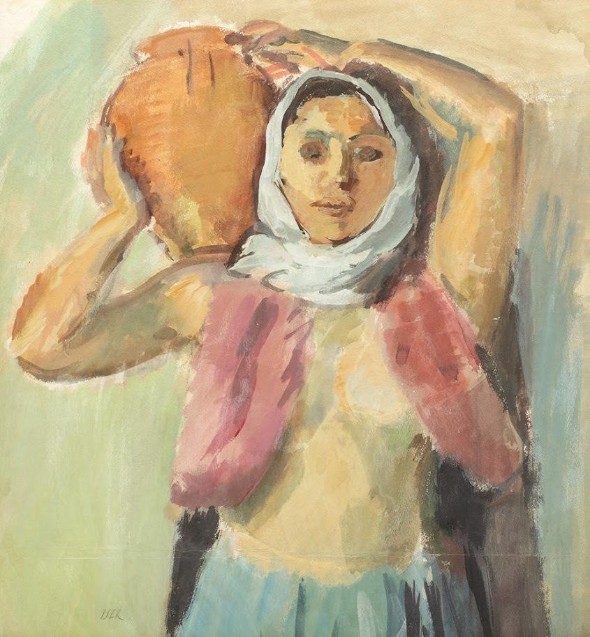 Iosif Iser - Tătăroaică cu ulciorul