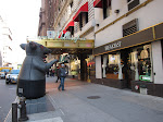 I finally learned what the inflatable rat is about....a ratings organization puts them in front of restaurants that fail their health inspections.