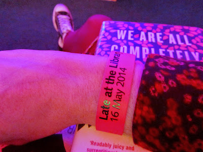 Late at the Library event wristband