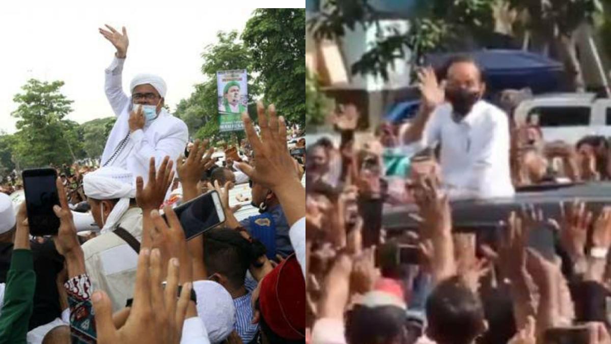 Kubu Habib Rizieq Yakin Polisi tak Berani Menindak Kerumunan yang Disebabkan Jokowi