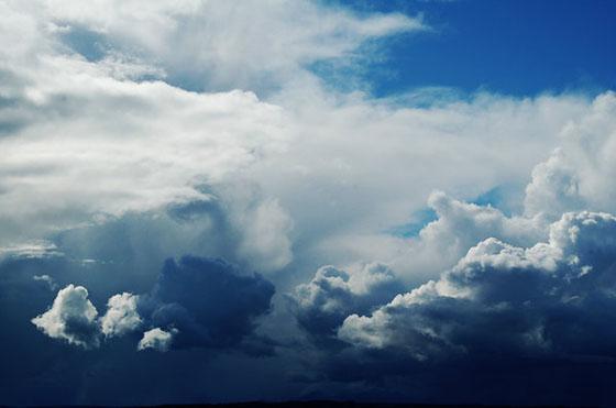 Céu com nuvens de alegion-stock