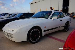White Porsche 944