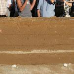 Le pisé : mur achevé