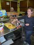 Serving Dinner at the Men's Shelter